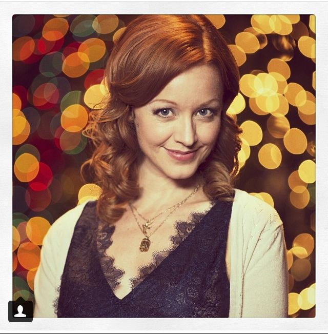 "Catch ""12 Trees of Christmas"" on CTV. Starring: Lindy Booth. Hair by: Me!"
