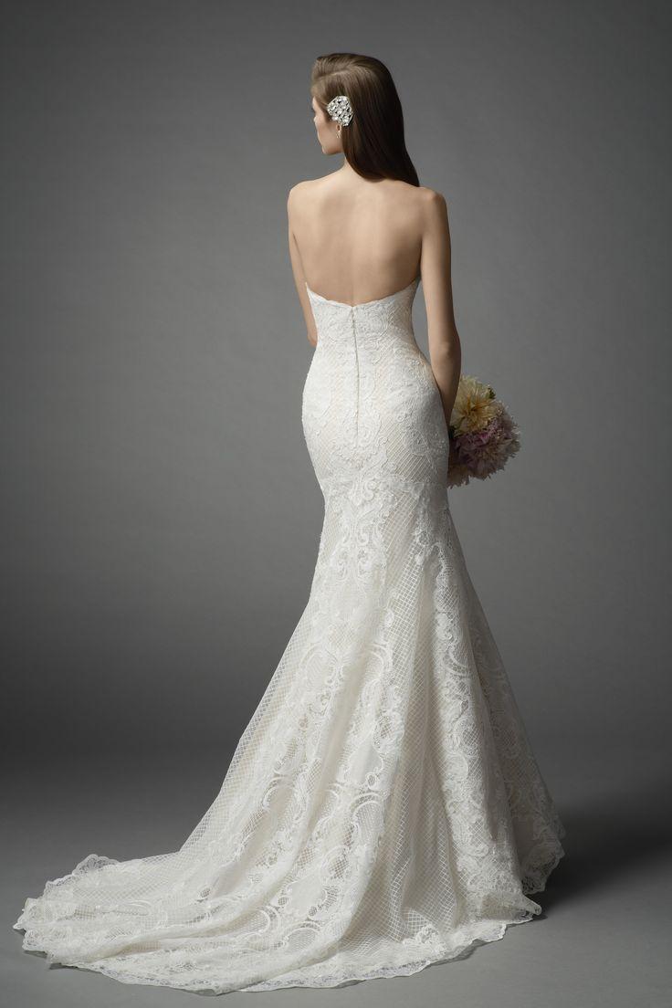Watters Femi gown #weddingdress #spring2015
