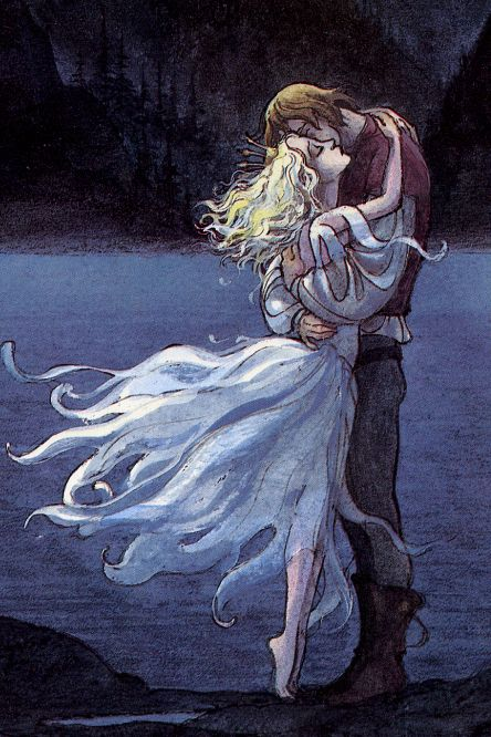 The Swan Princess- I grew up reading the book this picture came from. It was my favorite.