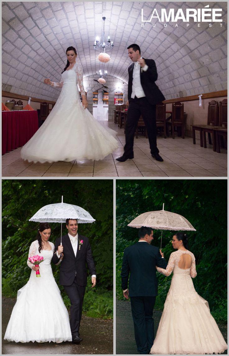 Basico esküvői ruha - Pronovias kollekció - Eszter menyasszonyunk http://lamariee.hu/eskuvoi-ruha/pronovias/basico