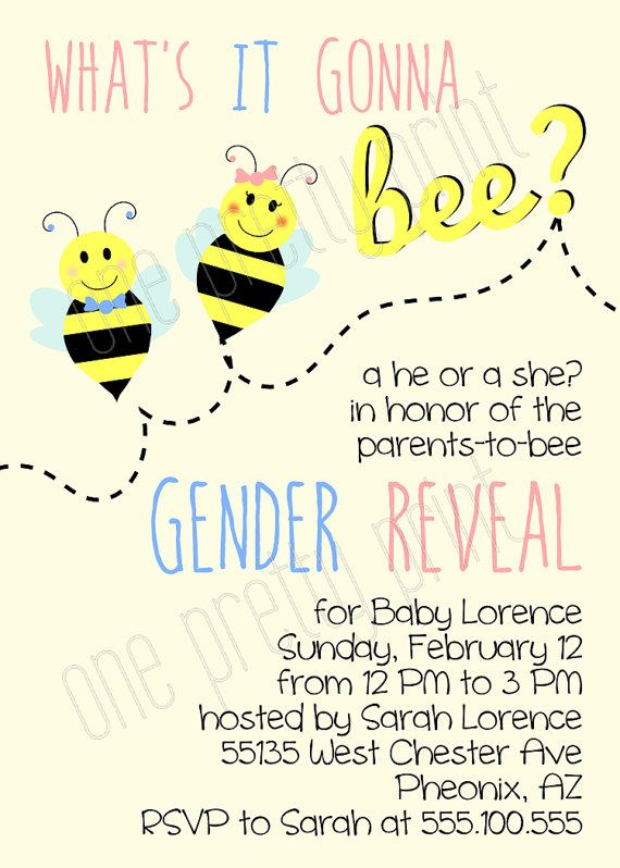 What's it gonna bee? Gender reveal baby shower