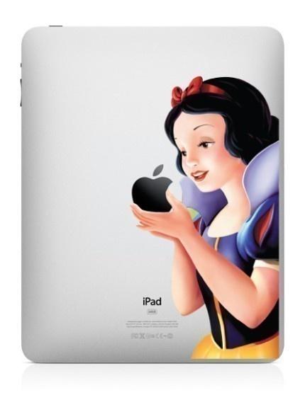 Snow White skin sticker for iPad