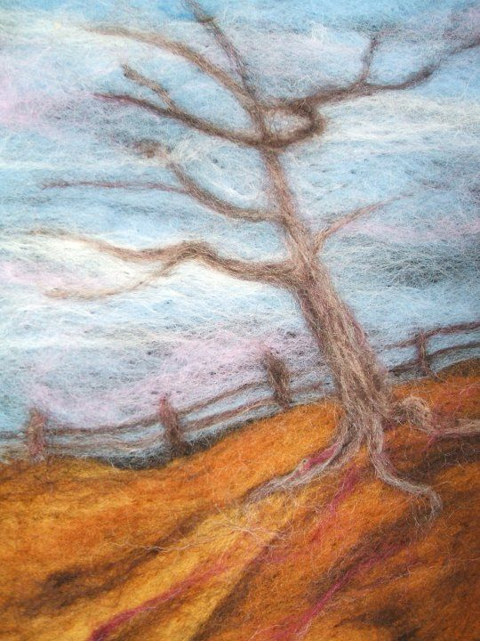 Free Needle Felting Patterns | New Needle Felted Landscapes - Hand Embroidery Network