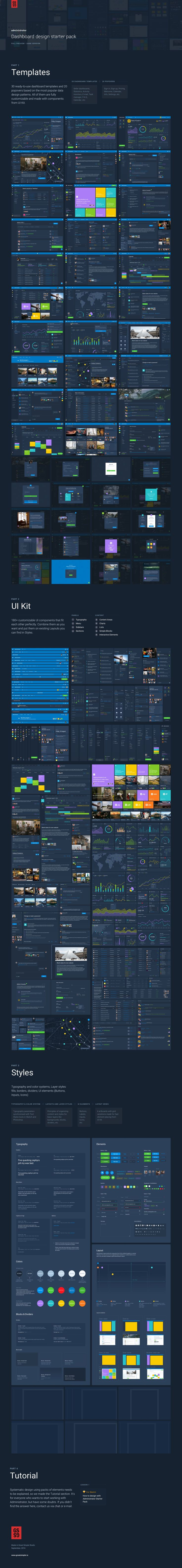 Administrator: Dashboard Design Pack • Available here → https://creativemarket.com/greatsimple/928826-Administrator-Dashboard-Design-Pack?u=pxcr