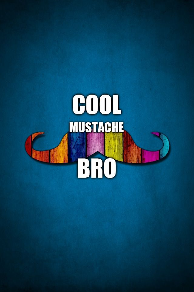 Mustache wallpaper app. | ♥♥Wallpapers/Backgrounds ♥♥ | Mustache wallpaper, Wallpaper app ...