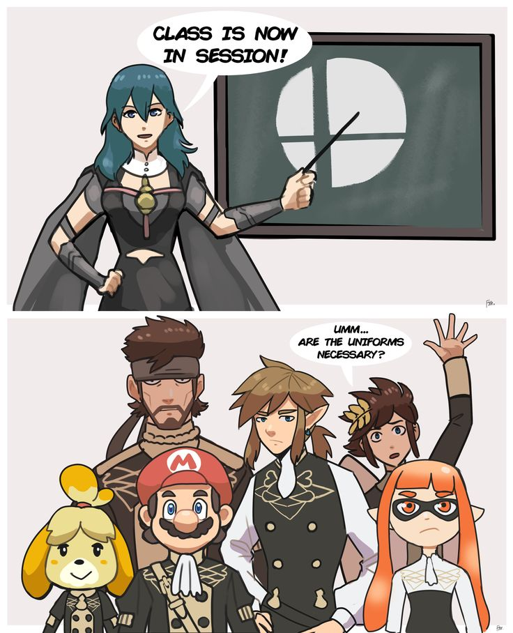 Class is now in session in 2020 super smash bros memes