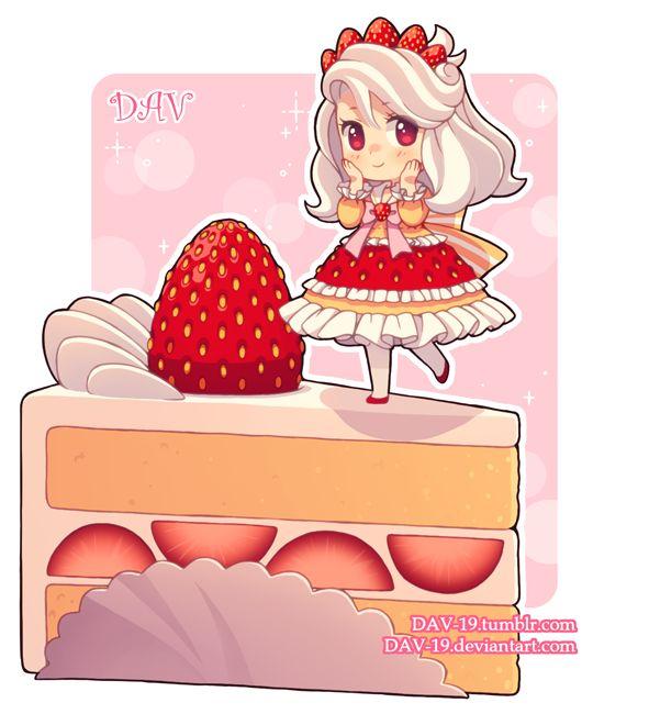 Strawberry Shortcake by DAV-19.deviantart.com on @DeviantArt