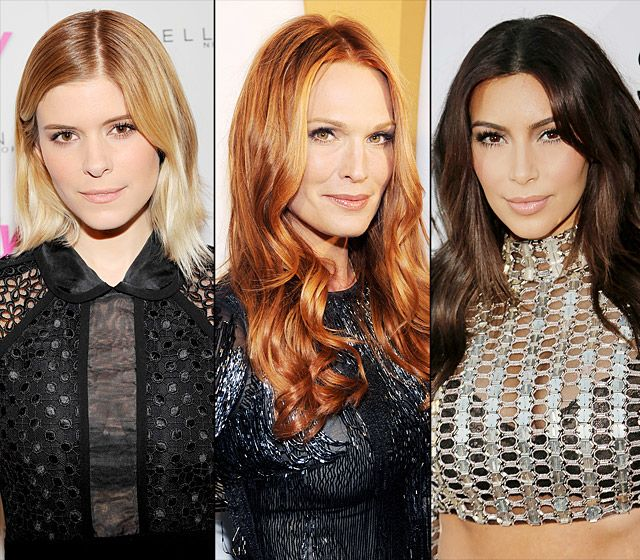 Celebrities' Dramatic Hair Color Makeoverszzzz