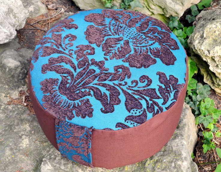 YOGAKISSEN.MEDITATIONSKISSEN. von Donnalupinas Textilwerkstatt auf DaWanda.com
