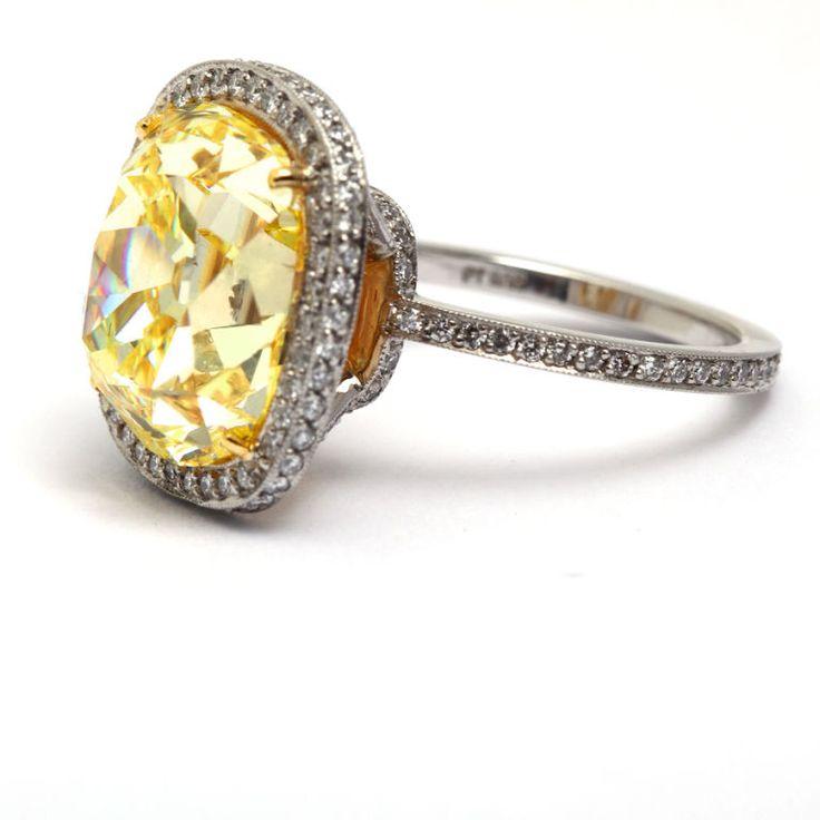 25+ best ideas about Yellow Diamond Rings on Pinterest ...