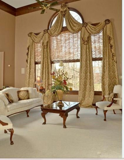 Traditional Living Room Window Treatments 1558 best custom window treatments images on pinterest | curtains