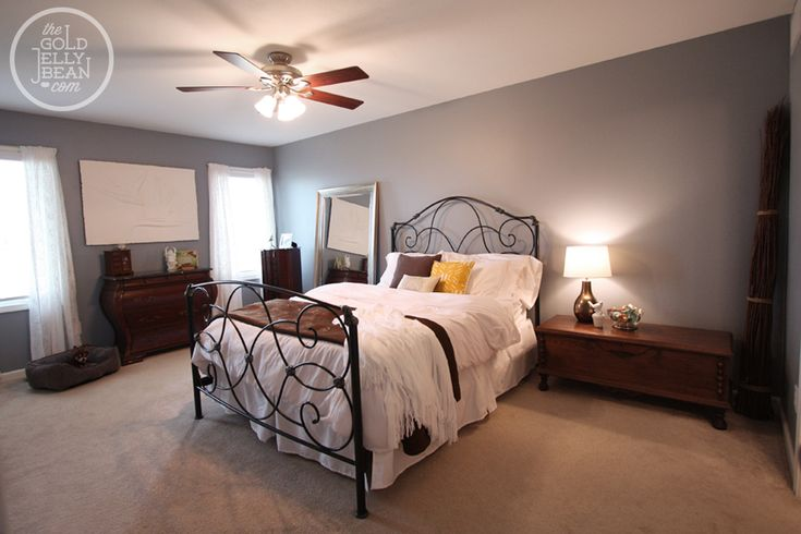 Benjamin moore pike s peak gray 2127 50 but i had this for What finish paint for bedroom