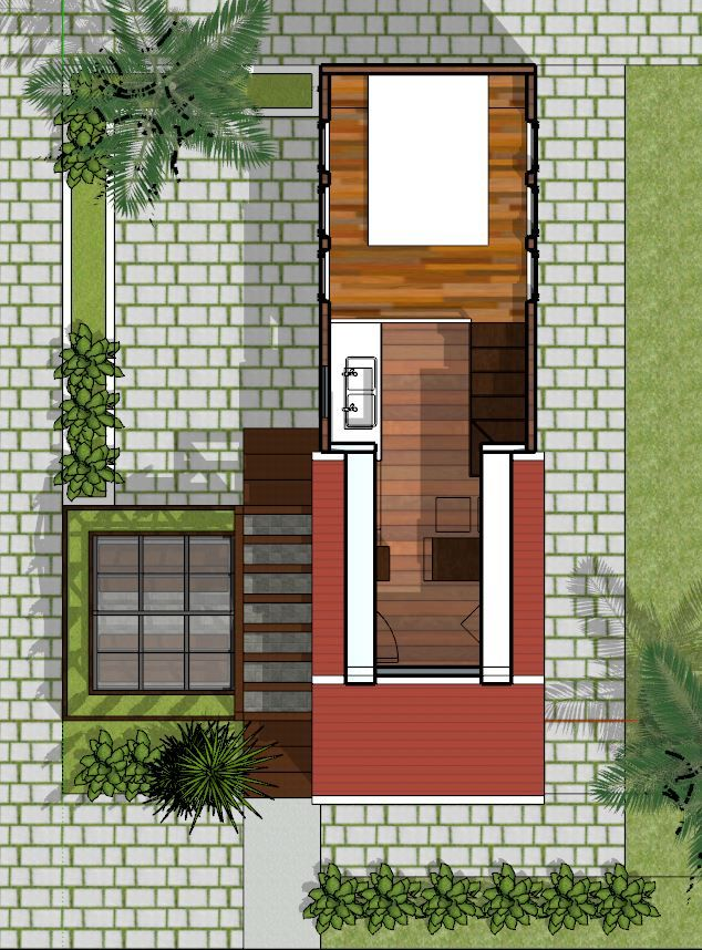 House Plans 2.5x8.5 with One Bedrooms House Plans Free