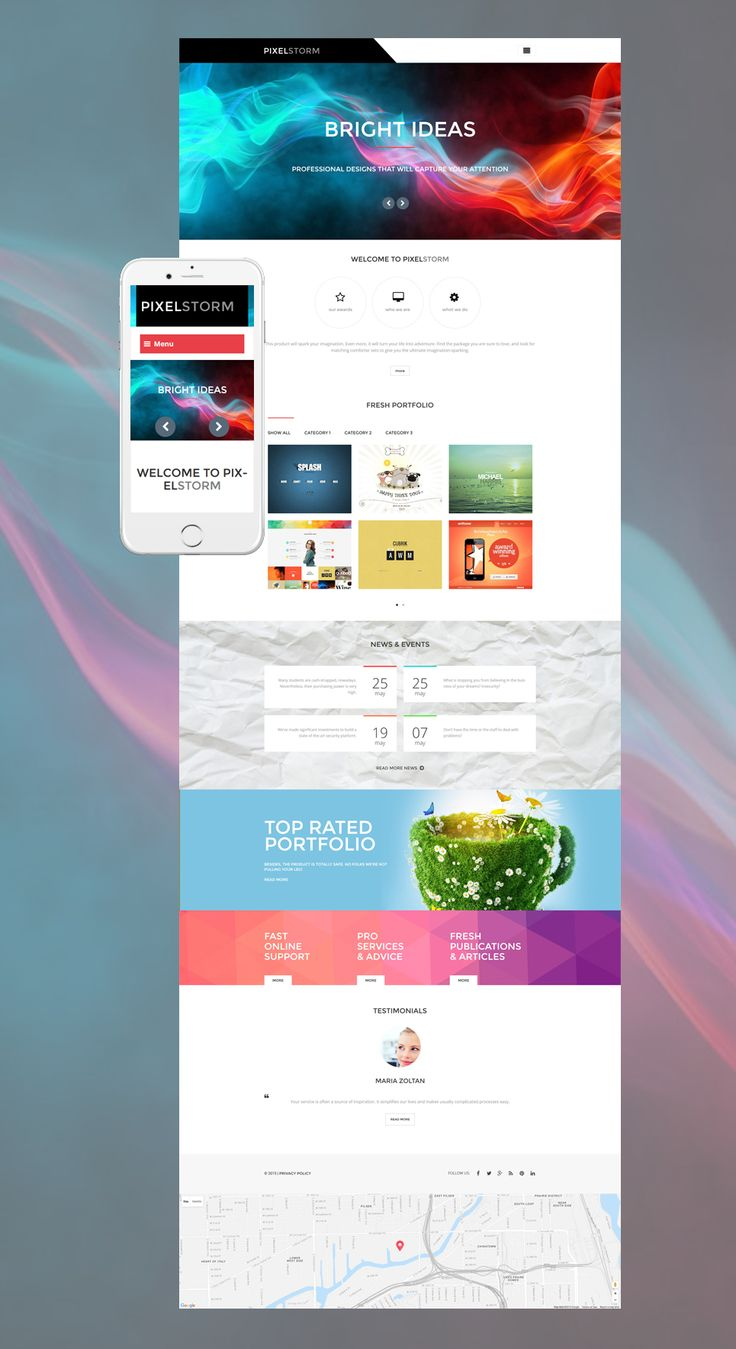287 best wordpress themes images on pinterest a professional pixel storm wordpress theme website templatedesign pronofoot35fo Choice Image