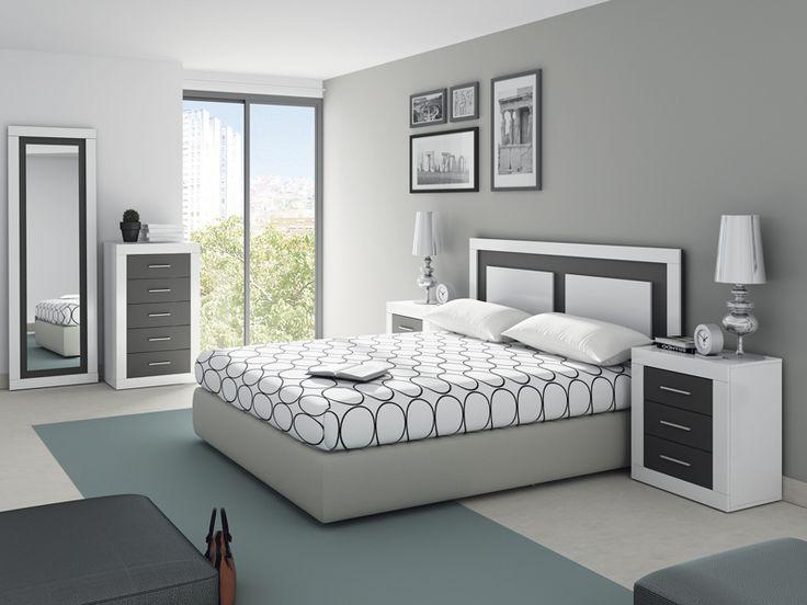 Dormitorio de matrimonio dormitorios pinterest bedroom bedroom decor y room decor - Color paredes habitacion ...