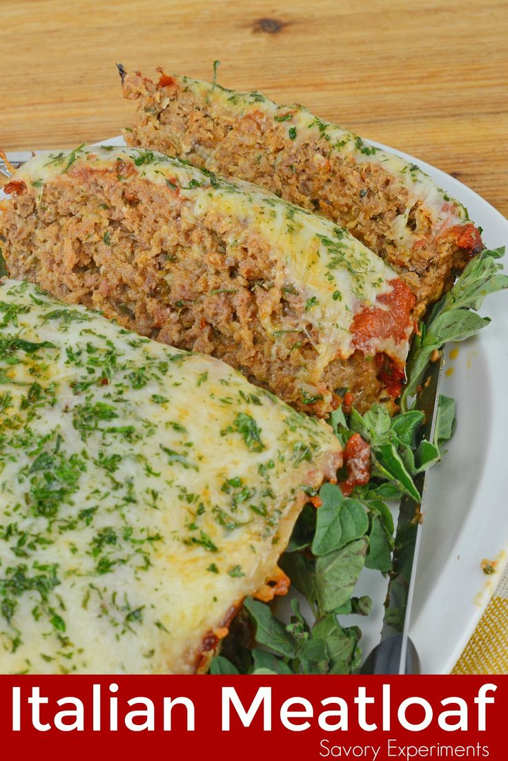 Italian Meatloaf | Recipe | Italian meatloaf, Ground beef ...