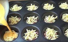Come preparare dei muffin salati davvero deliziosi. Da leccarsi i baffi!