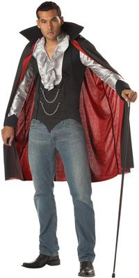Very Cool Vampire Costume - Click to buy this Halloween Costume