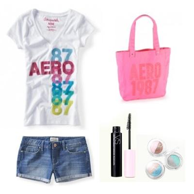 camiseta-shorts-bolso-pestañina-sombras-aeropostale