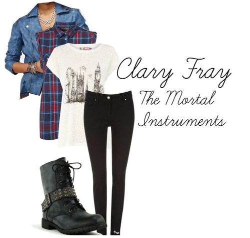 Clary Fray's style #TMIMovie