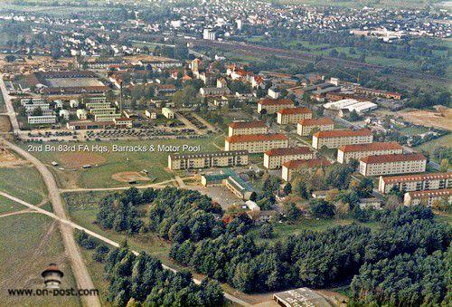 Babenhausen Germany 2nd 83rd Fa Us Army Babenhausen