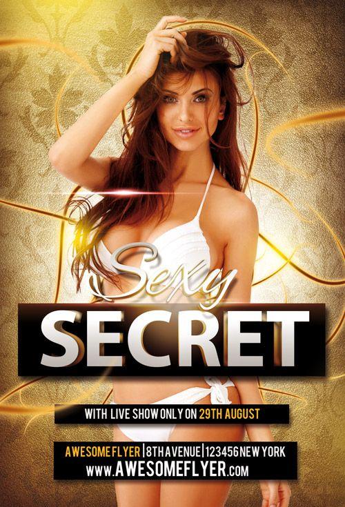 Sexy Secret Flyer Template - http://freepsdflyer.com/sexy-secret-flyer-template/ Enjoy downloading the Sexy Secret Flyer Template created by Awesomeflyer!   #Beach, #Club, #Dance, #EDM, #Electro, #Future, #Hot, #Music, #Nightclub, #Party, #Pool, #Sand, #Summer, #Techno, #Trance