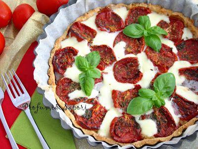 Profumi&Sapori: Torta salata con pomodoro siccagno e fiordilatte