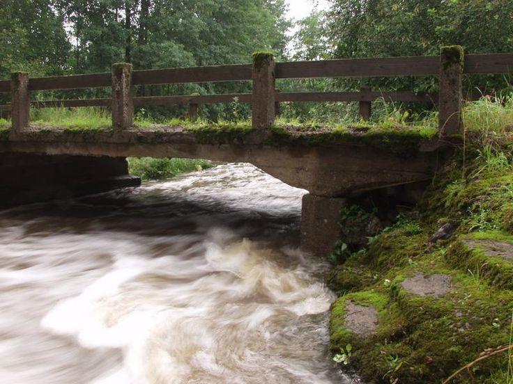 The mill's bridge, Myllykylä, Siuntio, FINLAND #Finland