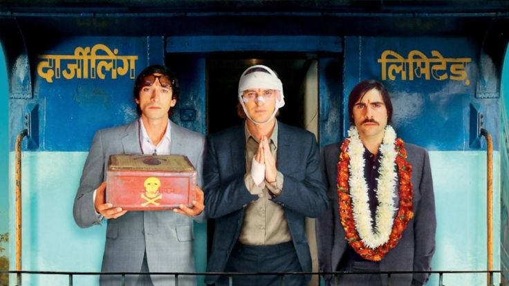 Wes Anderson is the king of symmetry. His preoccupation with this detail almost borders the obsession. Image: The Darjeeling Limited #wesanderson #thedarjeelinglimited #perfectsymmetry