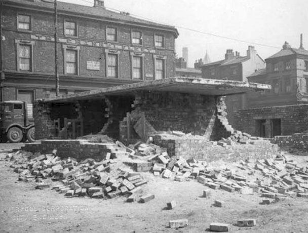 grafton street air raid shelter damage may 41