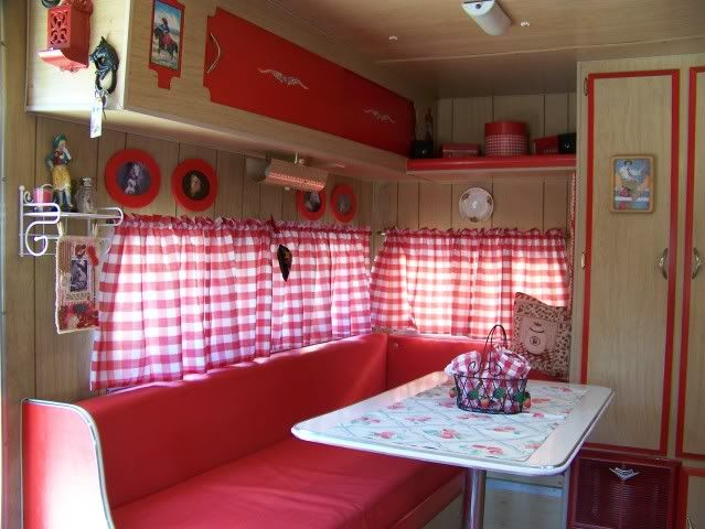 Vintage Camper Interiors Stella My Vintage Trailer