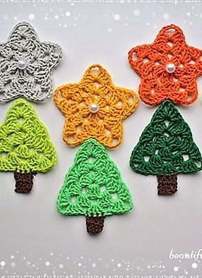 Crochet Star Free Pattern                                                                                                                                                                                 More