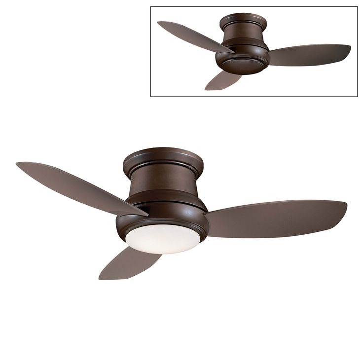 Shop Minka Aire  F518 44-in Concept™ II Flush Mount Ceiling Fan at ATG Stores. Browse our ceiling fans, all with free shipping and best price guaranteed.