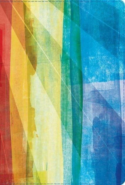 Biblia de Estudio Arco Iris RVR 1960, Piel Simil Multicolor (RVR 1960 Rainbow Study Bible, Multicolor LeatherTouch)