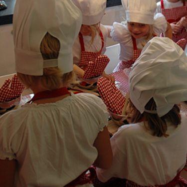 de bakkersmuts is zo voor elk kindje passend