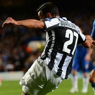 Fabio, Juventus | Anotando el segundo gol ante el Chelsea.