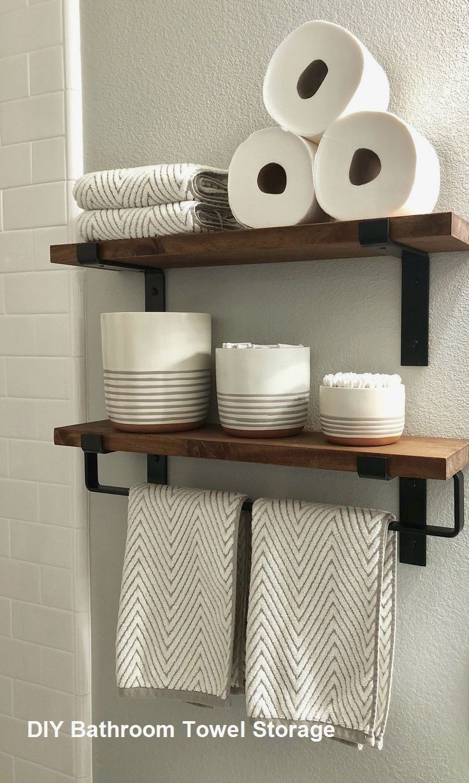 Diy Bathroom Towel Storage Ideas Towelstoragediy Bathroom Towel Storage Ideas Towelstorage Bathroom Towel Storage Bathroom Towel Bar Luxury Master Bathrooms