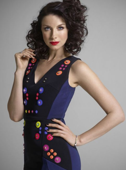 Caitriona Balfe Models for Victorias Secret, See the Photo   PEOPLE.com