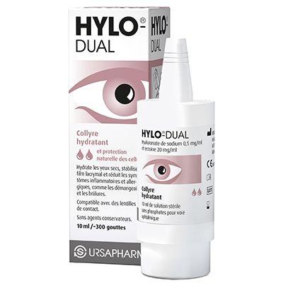 HYLO DUAL Collyre Hydratant