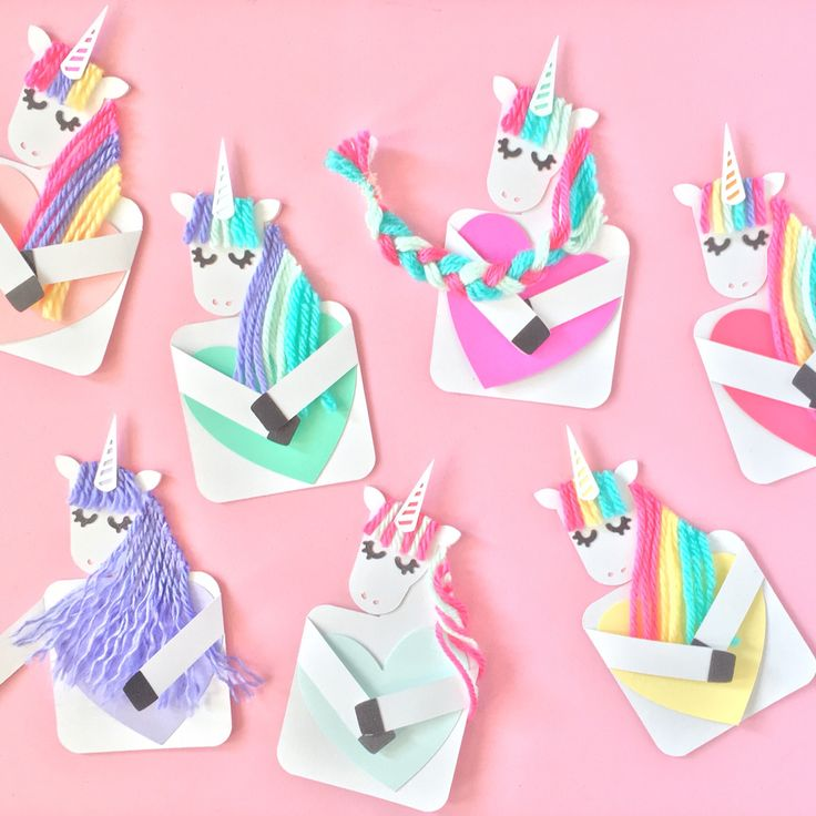 Baa24628eb59aff95b562ea1f3f6d537 Unicorn Cards Diy Birthday