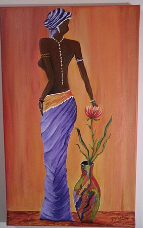 Wall Art: ♡ Beautiful African Women