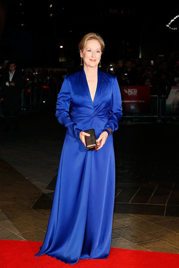 Meryl Streep In Lanvin - 'Suffragette' - Opening Night Gala - BFI London Film Festival - Zimbio
