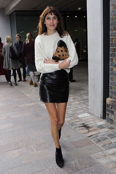 Mr. Blasberg's Best-Dressed List: London Fashion Week Spring 2014 Edition - Alexa Chung