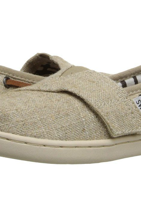 TOMS Kids Bimini Espadrille (Infant/Toddler/Little Kid) (Natural Burlap) Kids Shoes - TOMS Kids, Bimini Espadrille (Infant/Toddler/Little Kid), 10007520-101, Footwear Closed Slip on Casual, Slip on Casual, Closed Footwear, Footwear, Shoes, Gift - Outfit Ideas And Street Style 2017