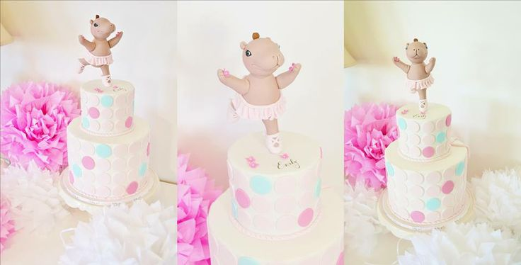 Dancing Hippo Cake