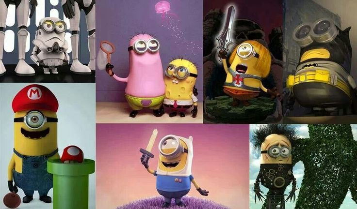 So there's a Clone trooper;SpongeBob & Patrick; He-Man ...