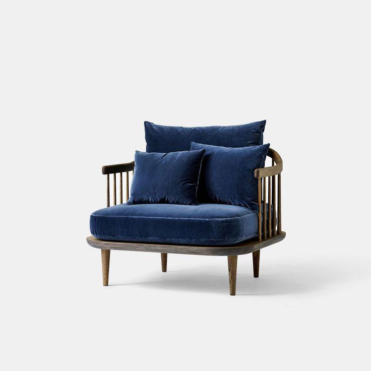 Fly Chair SC1 - Blue   &Tradition   Monologuelondon.com   Monologue London