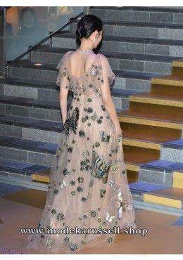 Elegantes Stick Kleid Abendkleid Ursulane