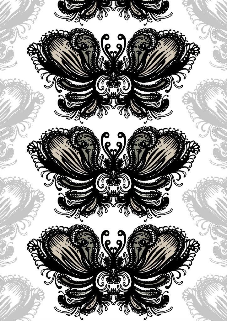 Vallila Interior Tulisielu black beige