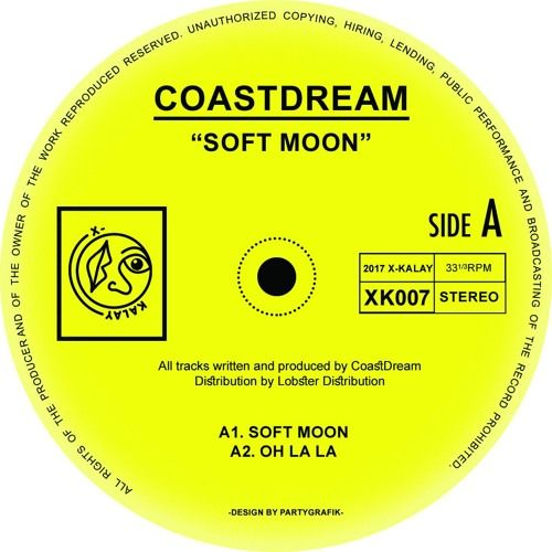 The elusive and enigmatic Brazilian producer 'CoastDream' resurfaces this spring on X-Kalay with his third EP, and arguably best work to date.  CoastDream has garnered something of a cult following th